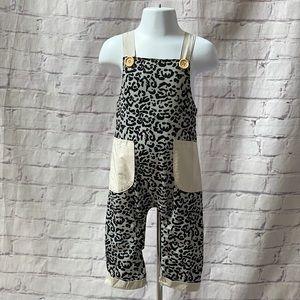Baby Leopard Halter Romper